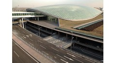 Beijing Capital International Airport,energy saving facade, polyamide profile, thermal barrier strut,