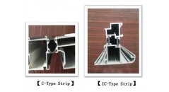thermal insulation strip ,the IC type, the C type