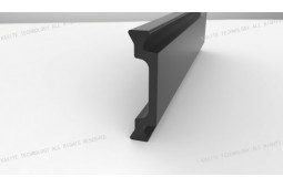 thermal barrier strip, Shape C 24mm thermal barrier strip, thermal barrier aluminium profile, thermal barrier aluminium window