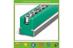 TYPE CK chain guide for roll chains,chain guide for roll chains, chain guide, plastic chain guide,TYPE CK polyamide chain guide