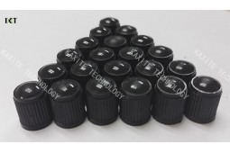 Tyre Valve Cap, Universal Car Wheel Tire Valves, PP Plastic Automobile Bicycle Tyre Valve Nozzle Cap, Dust Cap, Wheel Tire Valve Stem Caps