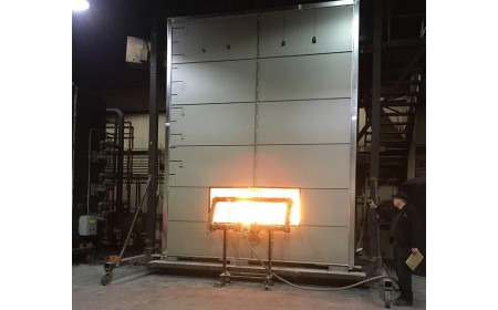 ASTM NFPA 285 fire performance test for polyamide