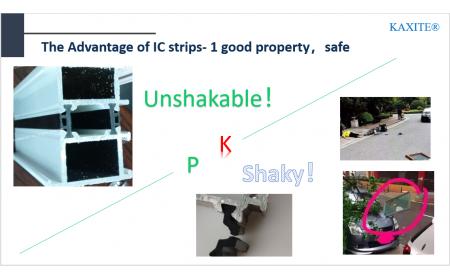 the advantage of shape IC thermal break good property safe