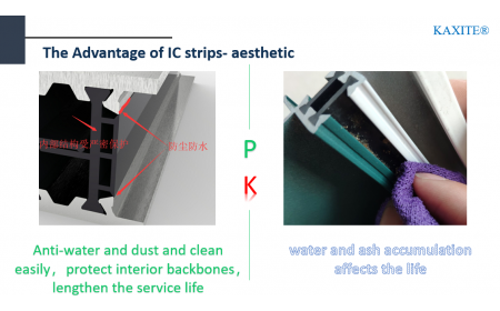 shape IC thermal break: anti-dust, easy to be cleaned up, beautiful. hashtag#thermal break
